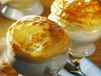 Onion Soup with Puff Pastry recipe