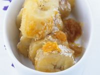 Orange and Coconut Baked Bananas recipe