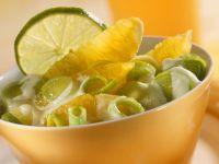 Orange and Leek Salad recipe