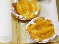 Orange and Walnut Tarts recipe