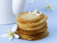Orange Blossom Tuiles recipe