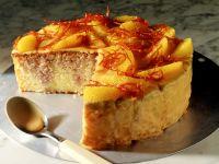 Orange Cake with Advocaat Glaze