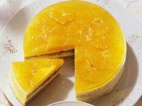 Orange Cake with Mousse Filling recipe