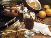 Orange Coffee with Whipped Cream recipe