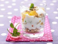 Orange Cream with Quark and Yogurt