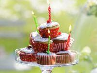 Orange Cupcakes with Meringue Frosting recipe