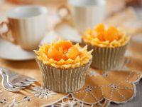 Orange Flower Cupcakes recipe