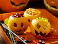 Orange Jelly Jack O' Lanterns recipe