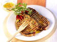 Orange Marinated Grilled Pork Chops recipe