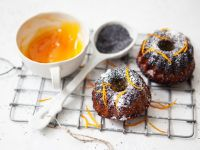 Orange-Poppy Cakes recipe