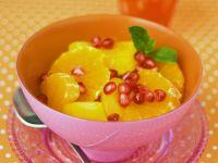 Orange Salad with Pomegranate recipe