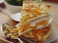 Orange Veg and Egg Tart recipe
