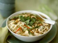 Oriental Chicken Noodle Soup recipe