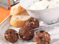 Oriental Meatballs Fondue recipe