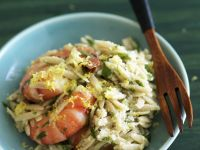 Orzo with Shrimp and Lemon recipe
