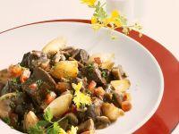 Ostrich Ragout with Mushrooms recipe