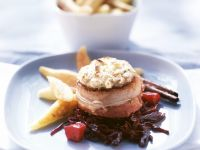 Ostrich Steaks with Hazelnut Crust recipe