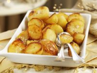 Oven Baked Golden Potatoes recipe