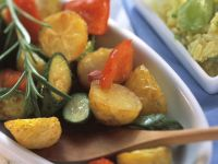 Oven-baked Vegetables