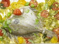 Oven-Roasted John Dory recipe