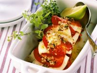 Oven Roasted Tomatoes with Feta Cheese recipe