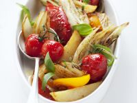Oven-Roasted Vegetable Salad recipe