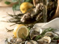 Oysters with Lemon recipe