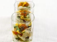Oysters with Trout Roe recipe
