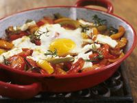 Paleo Peppers and Fried Eggs recipe