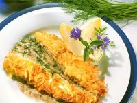 Pan-Fried Sole with Grated Potato Crust