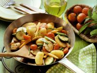 Pan-fried Vegetables with Chicken