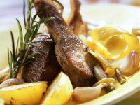 Pan-Roasted Lamb Chops recipe
