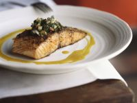 Pan-fried Curried Salmon recipe