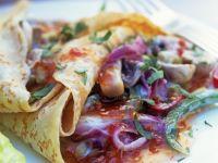 Pancakes Stuffed with Mushrooms recipe
