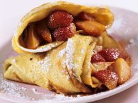 Pancakes Stuffed with Strawberries recipe