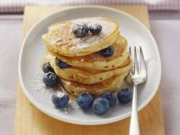 Pancakes with Blueberries recipe