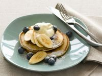Pancakes with Mixed Fruit recipe
