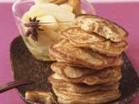 Pancakes with Pear Compote recipe