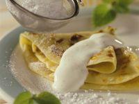 Pancakes with Rhubarb recipe