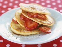 Pancakes with Strawberries recipe