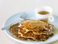 Pancakes with Syrup and Oatmeal recipe