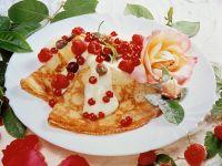 Pancakes with Vanilla Cream recipe