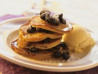 Pancakes with Vanilla Ice Cream recipe