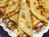 Pancakes with Vegetable Filling recipe