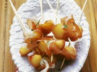 Pancetta and Apple Canapes recipe