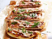 Pancetta and Tomato Pizza recipe