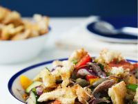 Panzanella with Anchovies recipe
