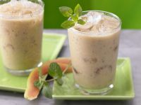 Papaya and Passion Fruit Smoothie recipe