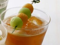 Papaya Melon Cooler recipe