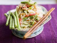 Asian String Bean and Prawn Salad recipe